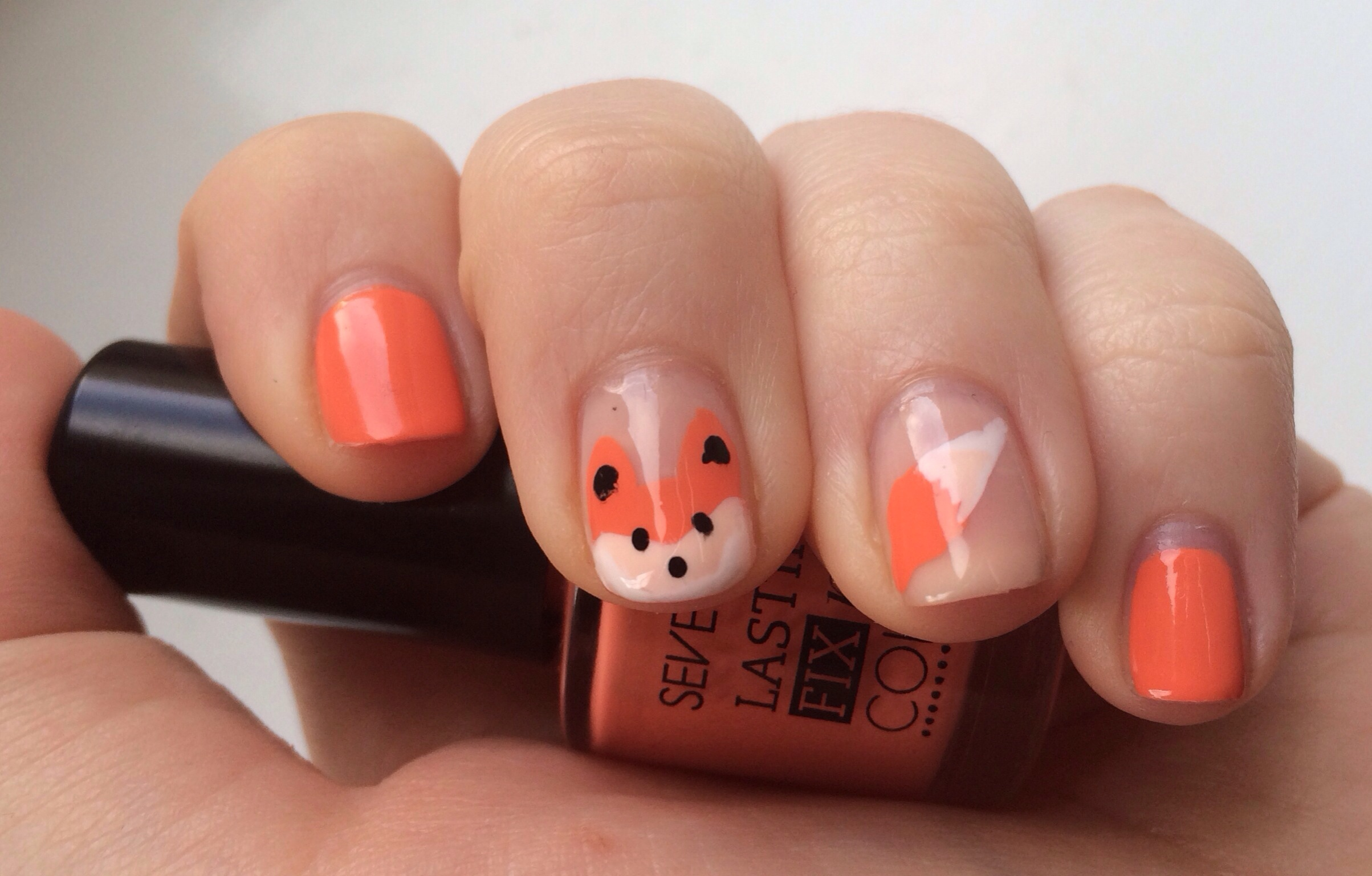 Nail Art: What Does The Fox Say? |